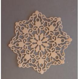 Serwetka gwiazda ażurowa 9cm