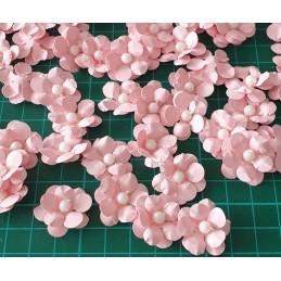 Kwiat różowy 2cm