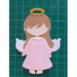Aniołek stojący dziewczynka