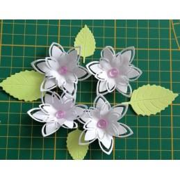Kwiaty z papieru zestaw A22...