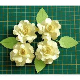 Kwiaty z papieru zestaw A21