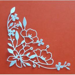 Gałązka kwiat brzegowa 03