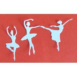 Baletnica zestaw 3 sztuk